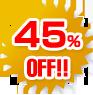 45% OFF!!