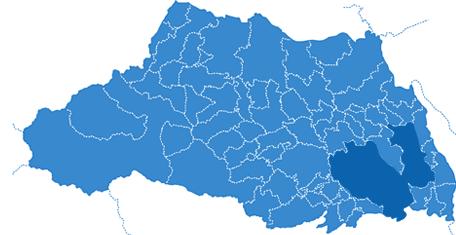 さいたま市エリアマップ